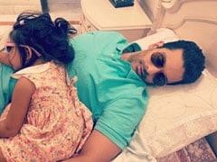 """Who Takes """"Afternoon Naps With Their Sunglasses On?"""" This Celeb Dad And Daughter"""