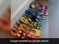 Why Kylie Jenner's Shoe Collection Has <i>Desi</i> Twitter Abuzz