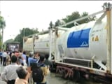 Video : Amid Covid surge, Oxygen Express From Jharkhand Reaches Bengaluru