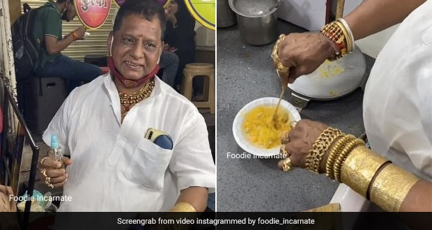 Viral: Indore Kulfi-Faluda Seller Dazzles Customers With Heavy Gold Jewellery