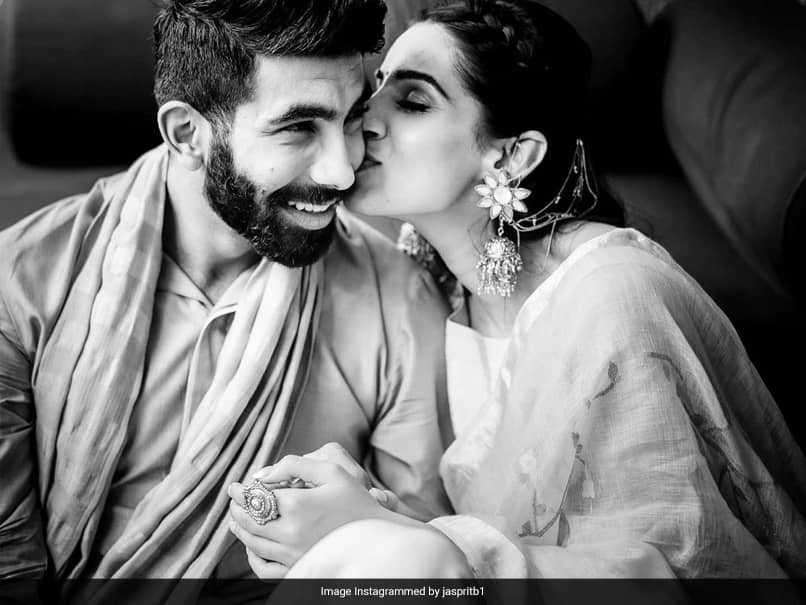 Jasprit Bumrah Wishes Wife Sanjana Ganesan On Her Birthday With A Loving Post