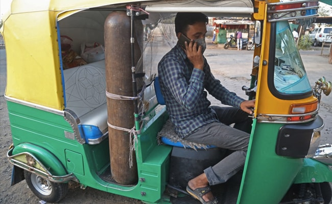 How Bhopal Driver Turned Auto Into Small Ambulance