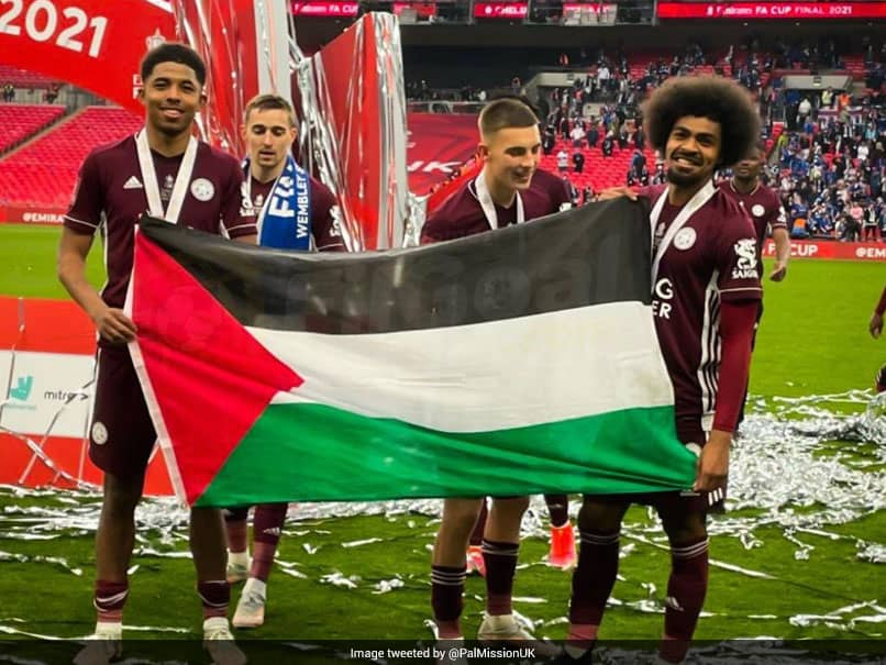 FA Cup: Leicester City Players Hamza Choudhury, Wesley Fofana Show Support For Palestinians After Title Win