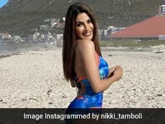 <i>Khatron Ke Khiladi</i>: Nikki Tamboli Sets Instagram Ablaze With Cape Town Pics