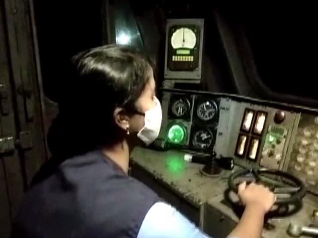 Video : Women Loco Pilots Bring Oxygen Express To Bengaluru