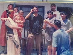 """Pics From Babil's """"Best Holi Celebrations"""" With Dad Irrfan Khan And Mom Sutapa At Tigmanshu Dhulia's House"""
