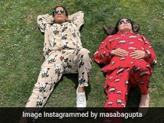 Masaba And Neena Gupta's Mother-Daughter Style Is Too Cool For School