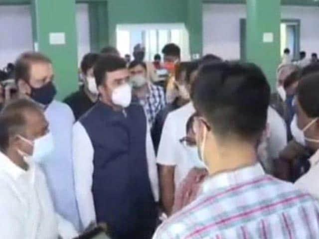 "Video : ""Fake News"": Tejasvi Surya On Reports He Apologised For Bengaluru Bed Row"