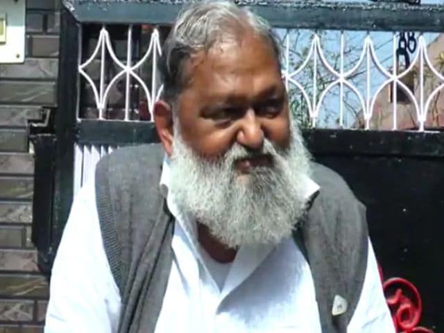 Video : Haryana Under Lockdown From Tomorrow For A Week: Minister Anil Vij