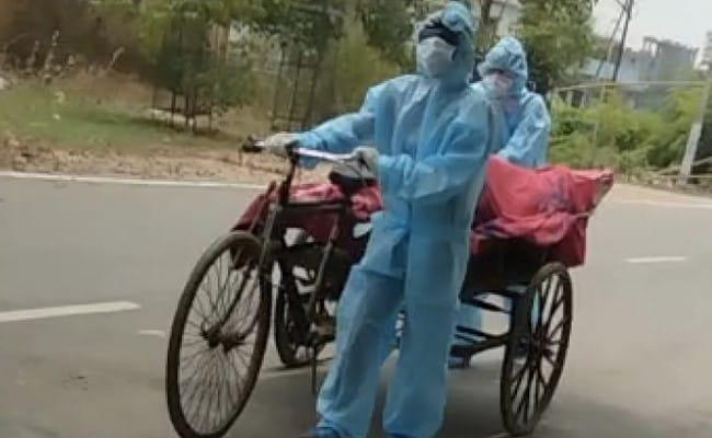 The Body Of The Young Man Was Taken From The Garbage Cart Of The Municipal Corporation For The Last Rites In Nalanda – नालंदा में युवक का शव अंतिम संस्कार के लिए नगर निगम के कूड़े के ठेले से ले जाया गया