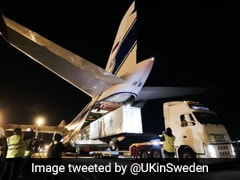World's Largest Cargo Plane Leaves For India With 3 Oxygen Plants From UK