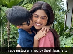 """""""Not Even Done Hugging You"""": Shilpa Shetty Posts Aww-Dorable Throwback On Son Viaan's Birthday"""