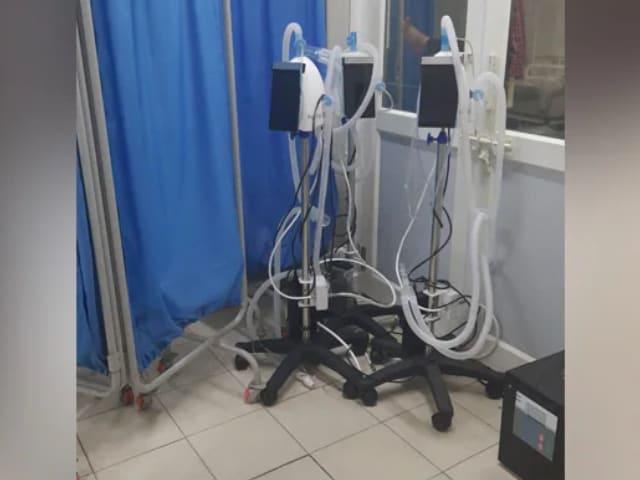 Video : In Madhya Pradesh, Chhattisgarh, PM Cares Ventilators Lie Unused