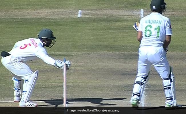 पाकिस्तानी बल्लेबाज का ZIM विकेटकीपर को हल्के में लेना पड़ा महंगा, क्रीज के अंदर रहने के बाद भी हुआ स्टंप..देखें Video