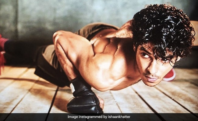 On A Scale Of 1 To Ishaan Khatter, How Many Of These Workout Routines Can You Do?