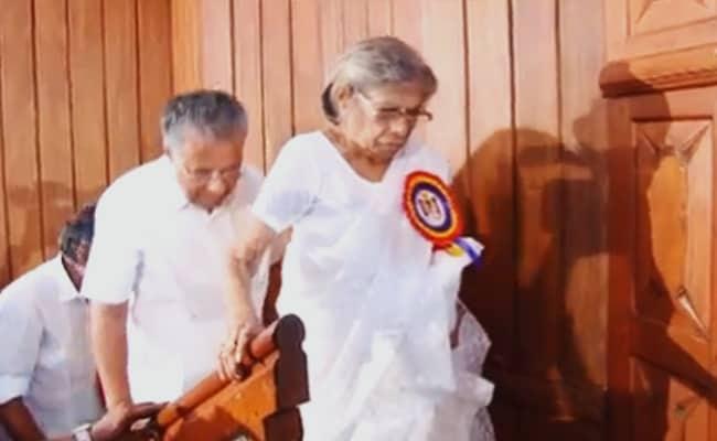 Veteran Leader KR Gouri Amma Dies: 'Among Those Who Laid Foundation Of Modern Kerala'