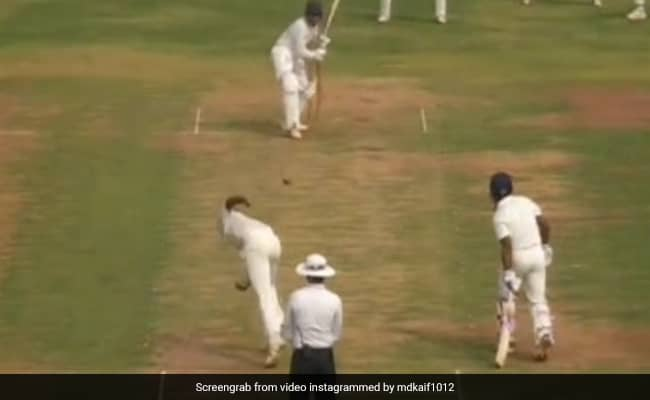 Like his brother Mohammed Shami, Mohammad Kaif also breaks into a havoc on the batsman, after seeing this viral video