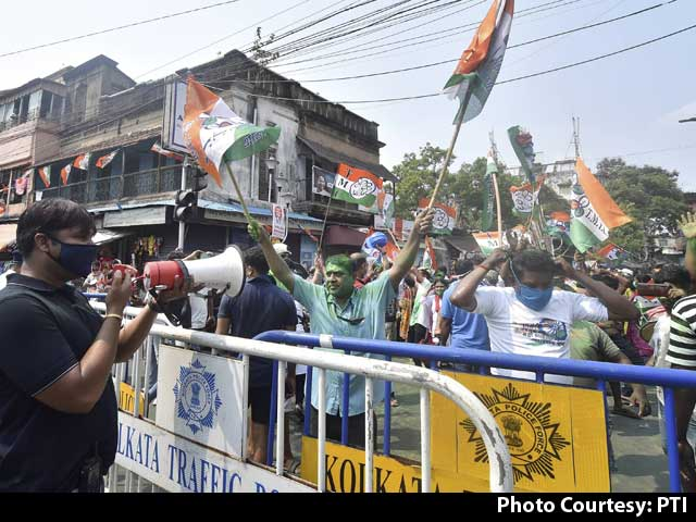 Video : West Bengal Election Result: Trinamool Crosses Halfway Mark In Early Leads
