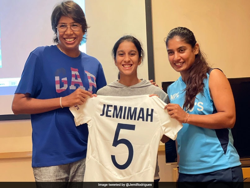 """""""Leave The Jersey In A Better Place"""": Jemimah Rodrigues Writes After Receiving Test Jersey"""