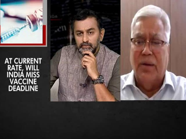 """Video : """"CoWin Portal Is Fine, Gap In Demand And Supply"""": Dr RS Sharma To NDTV"""