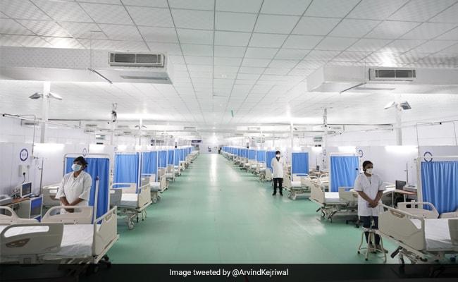 Delhi's Iconic Ram Leela Maidan Turns Into 500-ICU Bed Facility