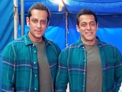 Viral: Salman Khan's Pic With Body Double Parvez Kazi From <I>Radhe</i> Sets