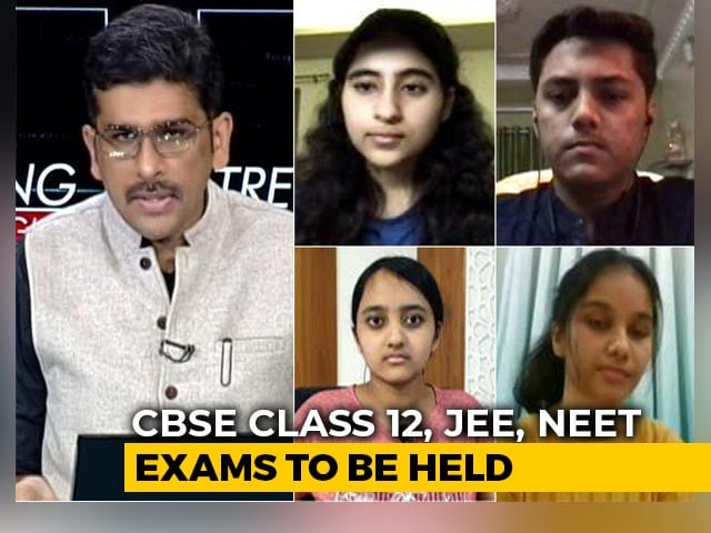 Video : Exams In A Pandemic: Present Tense But Future Perfect?