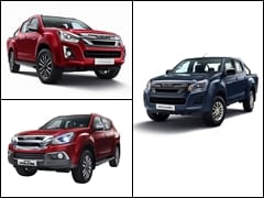 BS6 Compliant Isuzu D-Max V-Cross Range Launched In India, Prices Start At Rs. 16.98 Lakh