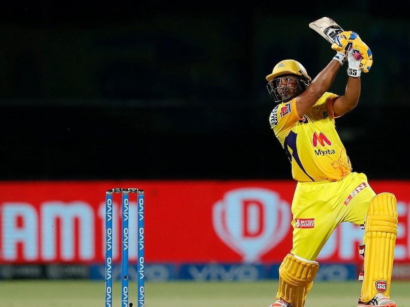 IPL 2021, MI vs CSK: Ambati Rayudus Six Off Jasprit Bumrah Smashes Fridge In Mumbai Indians Dugout. Watch