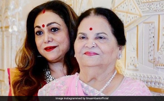Tina Ambani Shared A Mothers Day Post For Her Mother-In-Law Kokilaben Post 3 Photos