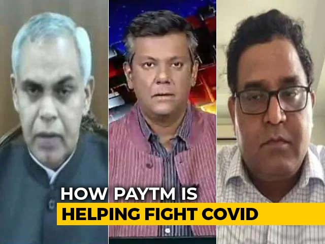"""Video : """"Communication On Vaccination"""": How PayTM Is Helping In Covid Fight"""