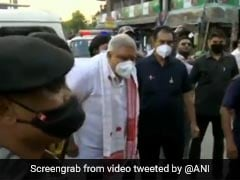 Bengal Governor Shown Black Flags During Visit To Violence-Hit Areas