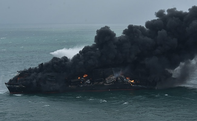 Cyclone Yaas Makes It Harder To Fight Huge Fire On Ship With Chemicals