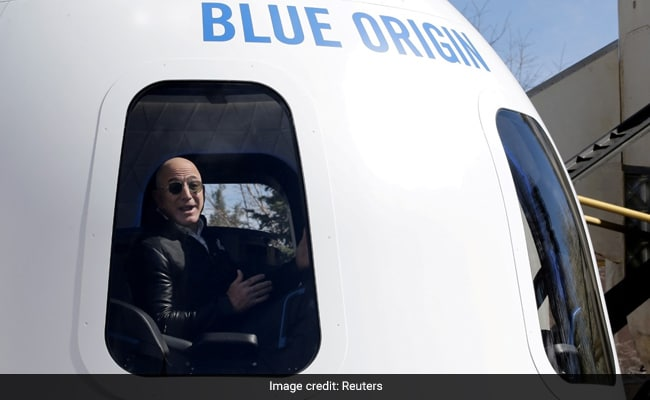 'Offering 1 Seat': Blue Origin Opens Bid For First Space Tourism Trip