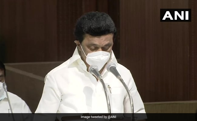 Tamil Nadu Chief Minister MK Stalin, Newly Elected Cabinet Take Oath