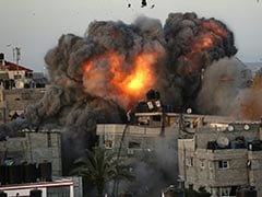 Gaza Pummelled By Fresh Israeli Strikes, More Than 200 Dead In A Week