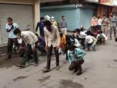 In Indore, Mass Punishment For Mask Defaulters Backfires On Official