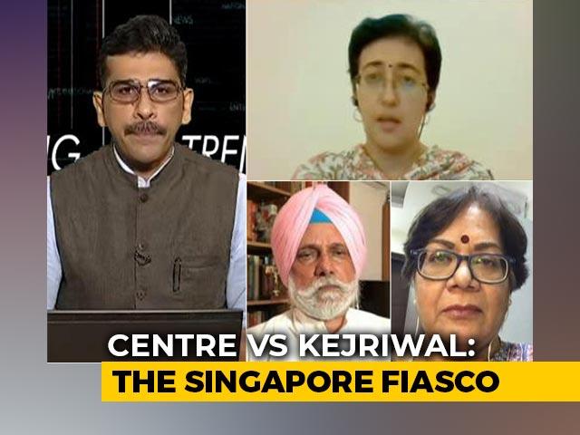 Video : Centre vs Arvind Kejriwal: The Singapore Fiasco