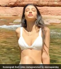 Alanna Panday Gives Her Arizona Getaway A Chic Touch In A White Bikini