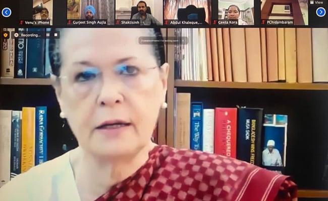 Sonia Gandhi Asks Congress Leaders To Work To Address Vaccine Hesitancy