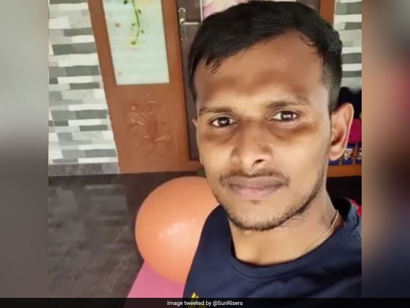 """""""On Road To Recovery"""": SunRisers Hyderabad Share Picture Of Pacer T Natarajan"""
