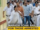 Video : 4 Including Mamata Banerjee's Ministers Arrested In Narada Case Get Bail