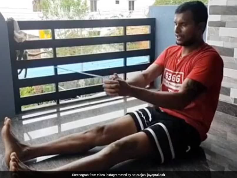 """""""I Wake Up Each Day Stronger"""": T Natarajan Recovering From Knee Surgery"""