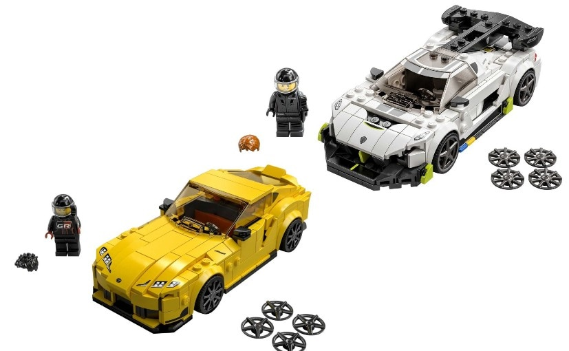 The 2021 LEGO Speed Champions set is now avialable internationally & will come to India soon