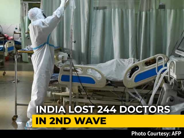 Video : 50 Doctors Reported Dead In 1 Day From Covid Across India: Medical Body