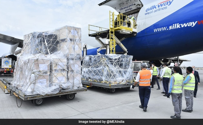 India Receives Second Shipment Of Covid Aid From Ireland