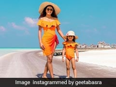 All The Times Geeta Basra Fashionably Twinned With Her Daughter Hinaya Heer