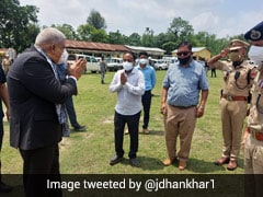 """""""History Will Judge Bengal..."""": Governor Jagdeep Dhankhar In Assam"""