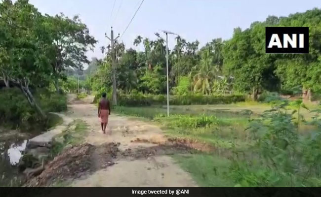 Lack Of Road Forces Ambulance Driver To Ferry Covid Patient On Bicycle In Assam