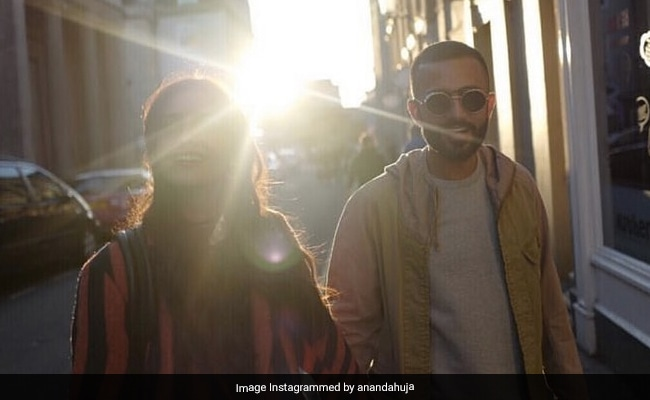 On Anand Ahuja's Belated Anniversary Post, Wife Sonam Kapoor Dropped An Adorable Comment